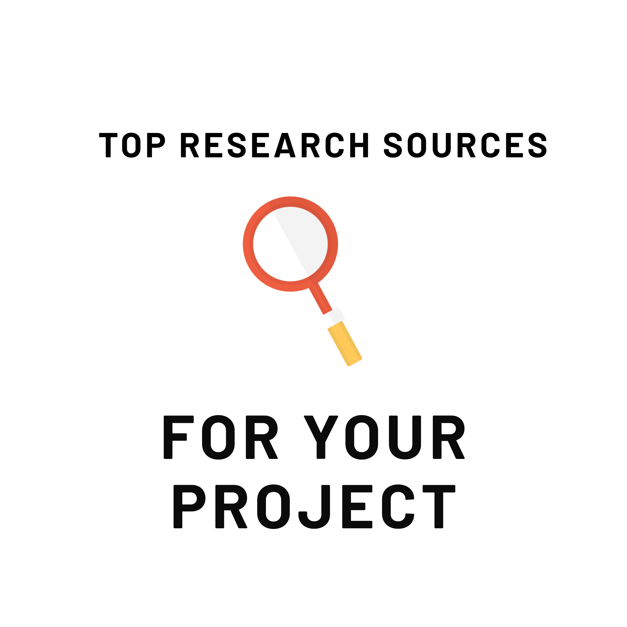 Top research sources for your project