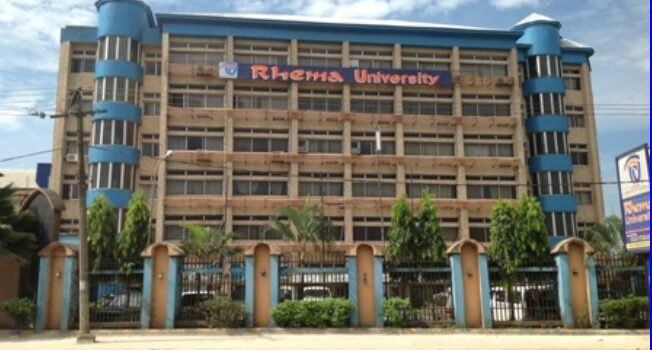 Rhema University Post Utme Form 2020