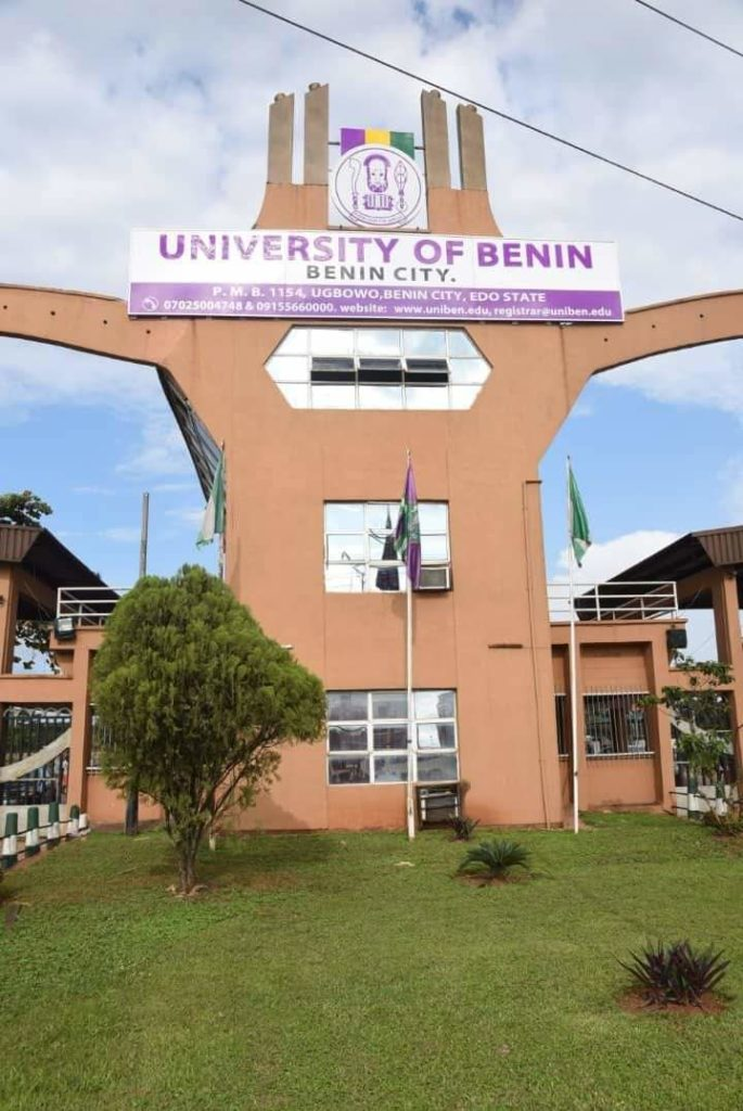 Uniben Part-time application process