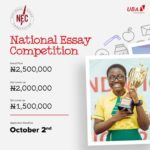 United Bank For Africa (UBA) National Essay Competition 2020 Edition